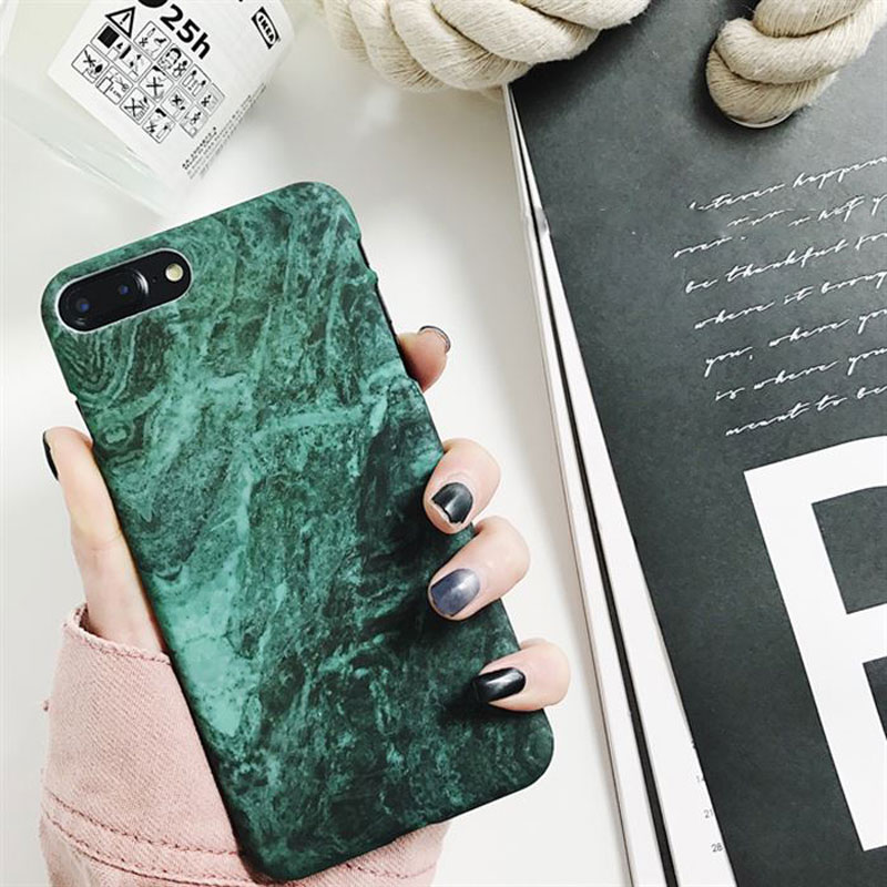 Luxury Retro Marble iPhone Case iPhone XS Max Case iPhone XS Case iPhone XR Case iPhone X Case iPhone 8 Plus Case iPhone 8 Case 7 Plus 7 6S